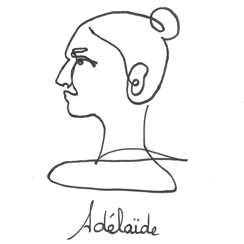 Portrait d'Adélaïde