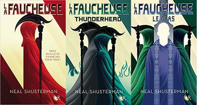 couverture trilogie la faucheuse de neal shusterman