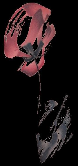 Coquelicot tatoué dans le dos de Gaïa, l'héroïne de RéValité
